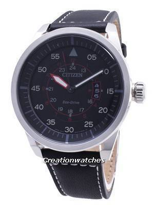 Citizen Eco-Drive Aviator Power Reserve AW1360-04E Men's Watch