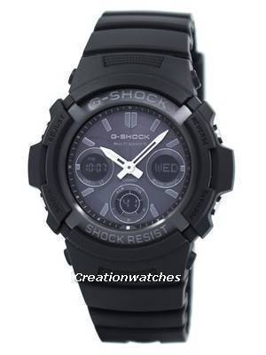 Casio G-Shock Atomic Multi Band 6 Analog Digital AWG-M100B-1A AWGM100B-1A Men's Watch