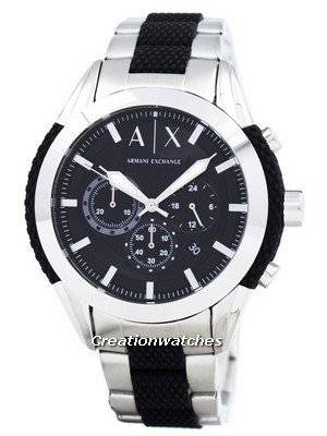 Armani Exchange Chronograph Black Dial AX1214 Men's Watch