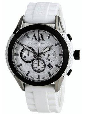 Armani Exchange Chronograph White Dial AX1225 Men's Watch