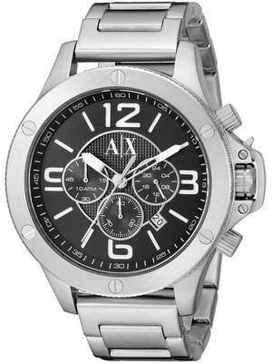 Armani Exchange Quartz Chronograph Black Dial AX1501 Men's Watch