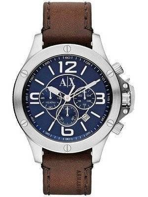 Armani Exchange Chronograph Blue Dial AX1505 Men's Watch