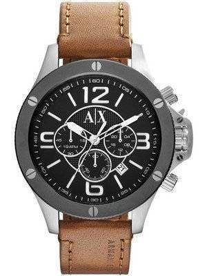 Armani Exchange Chronograph Black Dial AX1509 Men's Watch