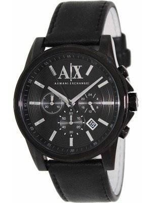 Armani Exchange Chronograph Black Dial AX2098 Men's Watch