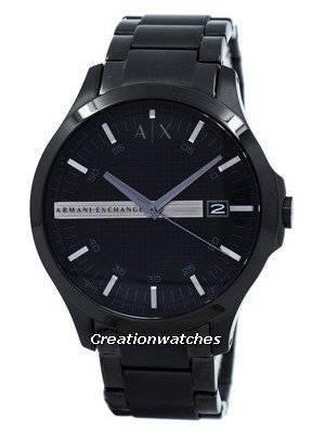 Armani Exchange Black Dial Stainless Steel AX2104 Men's Watch