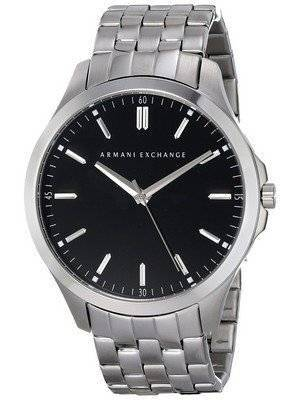 Armani Exchange Black Dial Stainless Steel AX2147 Men's Watch
