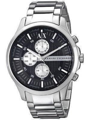 Armani Exchange Quartz Chronograph Black Dial AX2152 Men's Watch