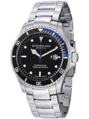 Stuhrling Original Regatta Swiss Quartz Divers 200M 326B.331151 Men's Watch