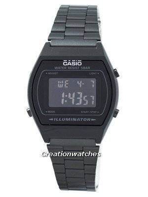 Casio Retro Digital Illuminator Multi Alarm B640WB-1BEF Unisex Watch