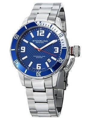 Stuhrling Original Divers 200M Swiss Quartz 676.02.SET Men's Watch