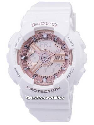 Casio Baby-G World Time Analog-Digital BA-110-7A1 Women's Watch