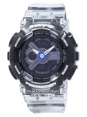 Casio Baby-G Shock Resistant World Time Analog Digital BA-110JM-1A BA110JM-1A Women's Watch