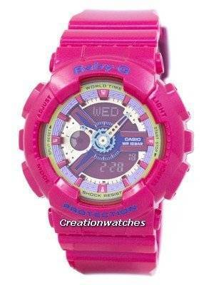 Casio Baby-G World Time BA-112-4A BA112-4A Women's Watch