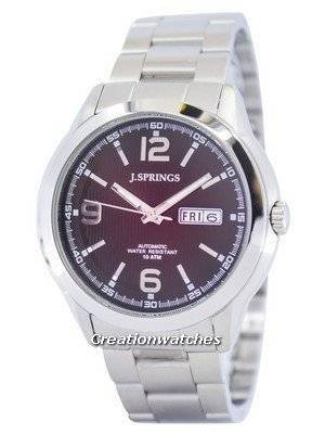 J.Springs by Seiko Automatic Brown Dial 100M BEB037 Men's Watch