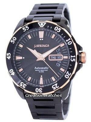 J.Springs by Seiko Automatic Black Dial 100M BEB065 Men's Watch