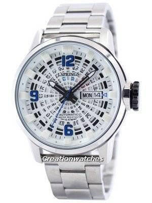 J.Springs by Seiko Tokyo Style Automatic White Dial 100M BEB094 Men's Watch