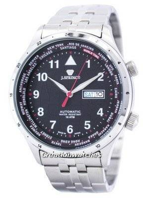 J.Springs by Seiko Sports Automatic World Time Japan Made BEB099 Men's Watch