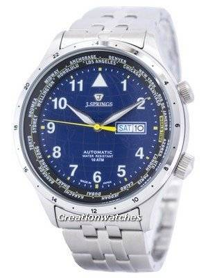 J.Springs by Seiko Sports Automatic World Time Japan Made BEB100 Men's Watch