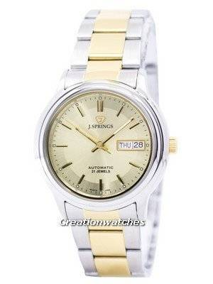 J.Springs by Seiko Automatic 21 Jewels Japan Made BEB525 Men's Watch