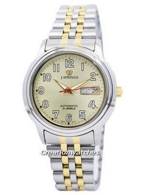 J.Springs by Seiko Automatic 21 Jewels Japan Made BEB535 Men's Watch