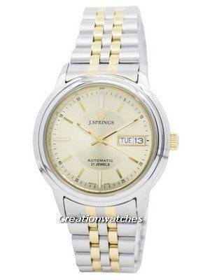 J.Springs by Seiko Automatic 21 Jewels Japan Made BEB540 Men's Watch