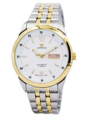 J.Springs by Seiko Automatic 21 Jewels Japan Made BEB599 Men's Watch