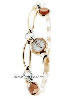 Orient Quartz Lady Rose BFBF002W Women's Watch With Pendant