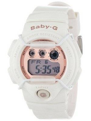 Casio Baby-G Digital Ivory Rose Gold BG-1005A-7 Women's Watch