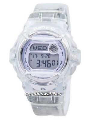 Casio Baby-G Shock Resistant Digital World Time Quartz BG-169R-7E BG169R-7E Women's Watch
