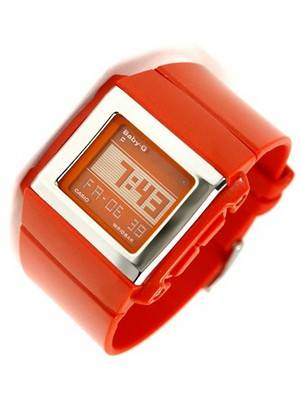 Casio Baby-G Earthquake World Timer Watch BG-2000-4DR BG2000