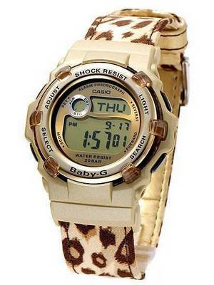 Casio Baby-G Sports World Time BG-3000V-5D Womens Watch