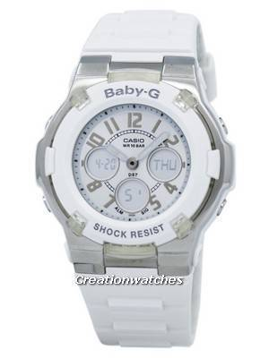 Casio Baby-G Analog Digital World Time BGA-110-7B Women's Watch