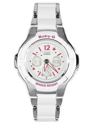 Casio Baby-G Alarm World Time Sports BGA-120C-7B2 Womens Watch