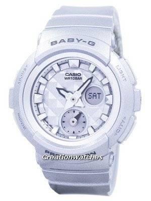 Casio Baby-G Shock Resistant World Time Analog Digital BGA-195-8A BGA195-8A Women's Watch