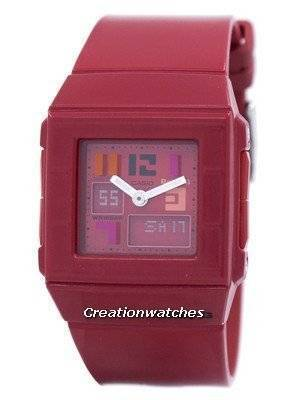 Casio Baby-G Red Alarm World Time BGA-200PD-4B Womens Watch