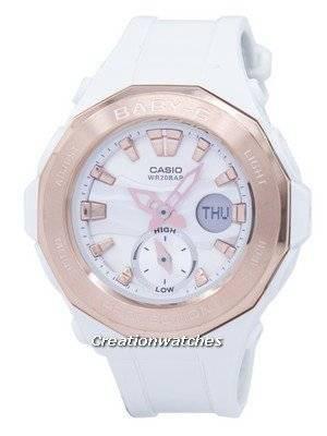 Casio Baby-G World Time Analog Digital BGA-220G-7ADR BGA220G-7ADR Women's Watch