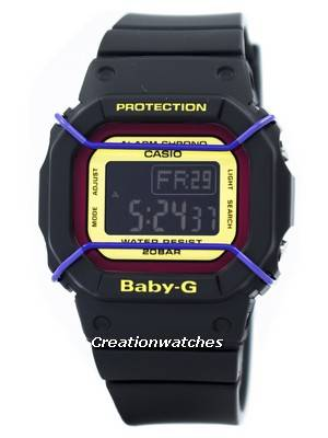 Casio Baby-G Digital World Time 200M BGD-501-1B Women's Watch