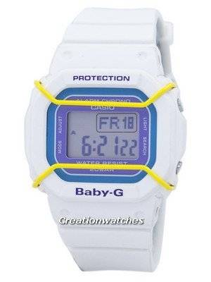 Casio Baby-G Digital Alarm Chrono World Time BGD-501-7B Women's Watch