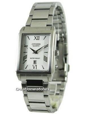 Citizen Quartz White Dial With Date BH1630-52A Men's Watch