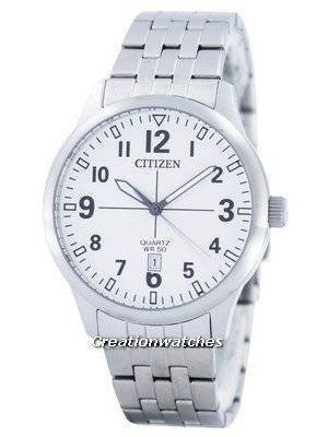 Citizen Quartz White Dial BI1050-81B Men's Watch
