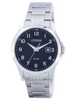 Citizen Quartz Black Dial BI5040-58E Men's Watch