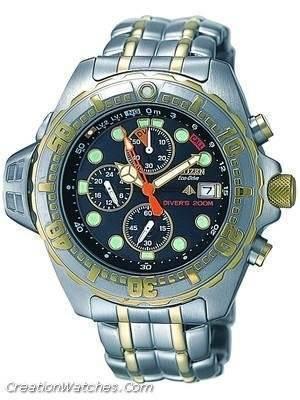 Citizen Promaster Aqualand Diver Eco Drive Watch BJ2014-55E