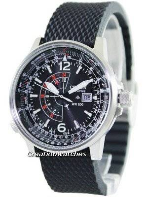 Citizen Promaster Eco Drive Nighthawk BJ7010-09E BJ7010-09 Men's Watch
