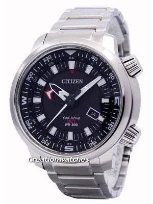 Citizen Eco-Drive Promaster GMT 200M BJ7081-51E Men's Watch