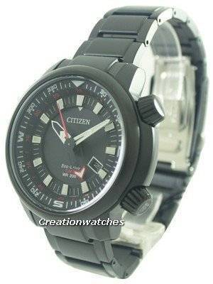 Citizen Eco-Drive Power Reserve GMT 200M BJ7085-50E Men's Watch