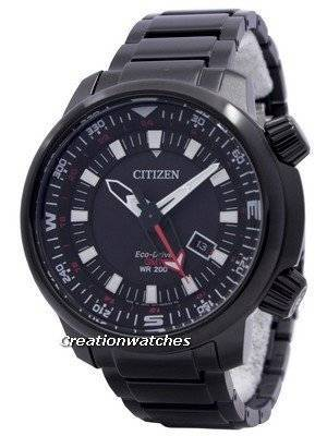 Citizen Eco-Drive Promaster GMT 200M BJ7086-57E Men's Watch