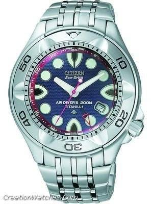 Citizen Air Diver Promaster GMT Duratect Titanium BJ9104-56L BJ9104
