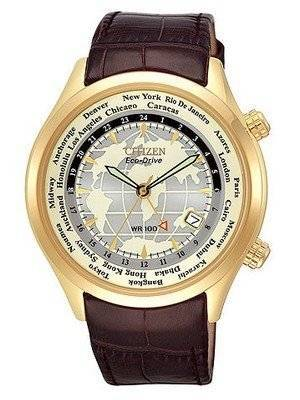 Citizen Eco Drive World Time BJ9123-01A BJ9123 Men's Watch