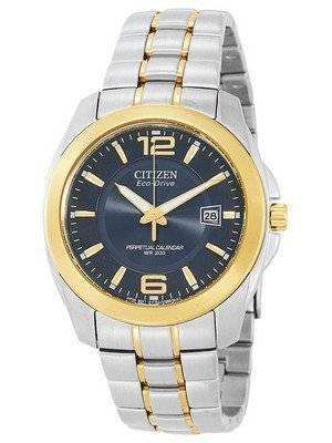 Citizen Eco-Drive Perpetual Calendar Two Tone BL1224-55L Men's Watch