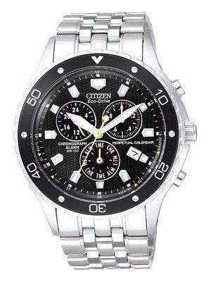 Citizen Eco Perpetual Alarm Chronograph BL5290-59E
